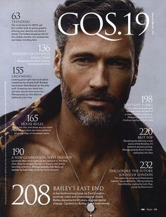 Gary Greenwood Grooming for GQ style Photography: John Balsom
