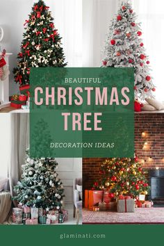Festive Christmas tree decoration ideas to bring your home holiday spirit! Visit Glaminati.com for more inspirational ideas! #glaminati #christmastree #christmastreedecor #christmasdecoration