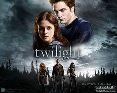 Twilight - Wallpaper with Robert Pattinson & Kristen Stewart