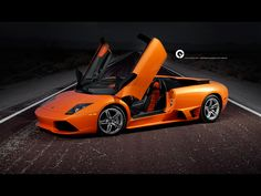 orange lamborghini hd wallpaper - http://69hdwallpapers.com/orange-lamborghini-hd-wallpaper/