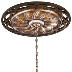 Minka Lighting Bronze Decorative Medallion for Ceiling Lights - 26-1/2-Inches Wide 1750-206