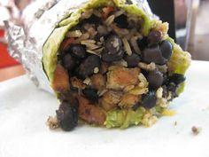 Burrito at Pancho Villa Taqueria in San Francisco. #cheapeats #burritos
