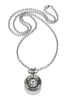 Kettinghorloge «Antika», bpc bonprix collection, zilverkleur