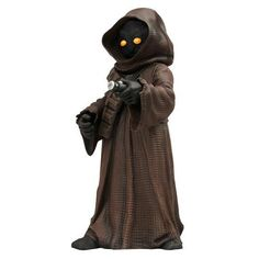 Star Wars Jawa — not quite humanoid, makes a great meal! Burp.