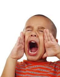 Vocabulario: Verbo 3- Gritar, hablar con mucho fuerte con en voz alto.