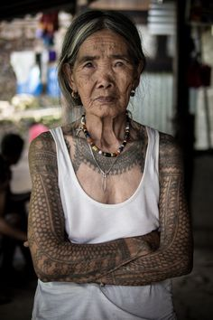 Whang-od the last kalinga tatooist in the Philippines