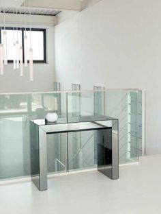 Consolle allungabile in vetro by Ozzio Design