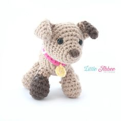 Download Now  CROCHET PATTERN Spot the Puppy with by littleabbee