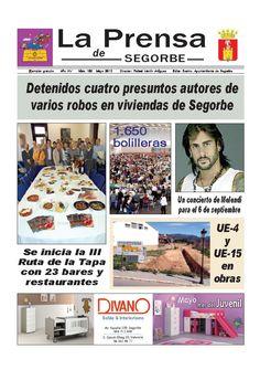 La Prensa de SEGORBE nº 162 Mayo 2013