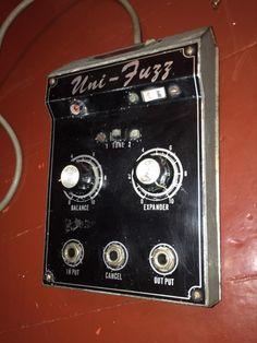 early 1970's Univox UNI-FUZZ pedal HOLY GRAIL fuzz rare!