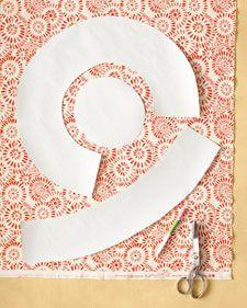 Reversible Hat - Martha Stewart Sewing Projects #sunhatpattern