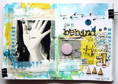 made by Mumka ► SODAlicious art journal challenge No16