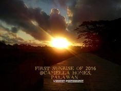Thank you Ms. Margie Vanscoy for sharing this beautiful photo of first sunrise of 2016 at Puerto Princesa, Palawan, Ms, Sunrise, Celestial, Movies, Movie Posters, Outdoor, Beautiful