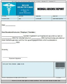 medical absense report doctors note doctors note template notes template medical med school