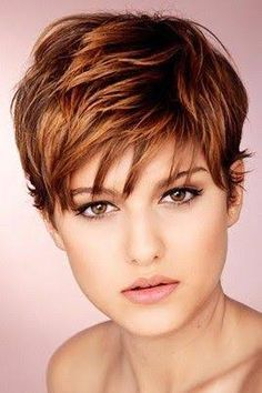 Resultado de imagem para choppy short haircuts for fine hair