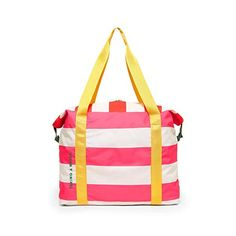 Getaway Weekender Bag - Swim Club Stripe by ban.do - weekender - ban. Summer Tote Bags, Beach Tote Bags, Beach Bag Essentials, Pool Umbrellas, Sun Hats For Women, Pool Accessories, Womens Summer Shoes, Swim Club, Travel Bags