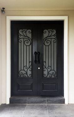 Viterbo. Wood and Iron Door