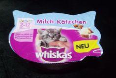 Ich kam nicht vorbei an 2 Produkten von WHISKAS. Ich habe zum einen das neue Produkt Milch-Kätzchen und Crunch gekauft.