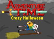 Adventure Time Crazy Halloween