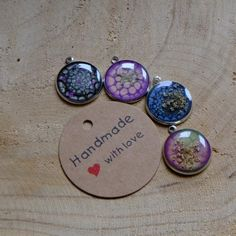 Drop Earrings, Handmade, Jewelry, Colorful Backgrounds, Plastic Resin, Neck Chain, Flowers, Schmuck, Hand Made