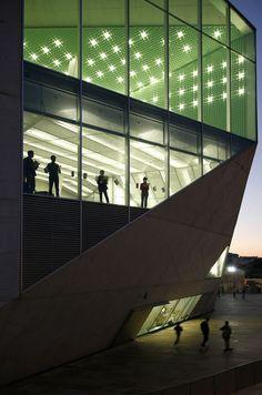 REM KOOLHAAS, CASA DA MUSICA, PORTO, PORTUGAL © ngphoto.com.pt