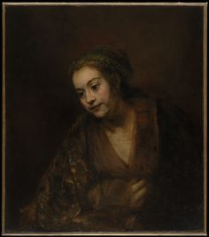 Hendrickje Stoffels (1626–1663) Rembrandt (Rembrandt van Rijn) (Dutch, Leiden 1606–1669 Amsterdam) Date: mid-1650s