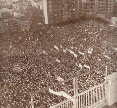 #fotografia #arxiugràfic #diada #onzedesetembre #Catalunya #SantBoi #1976