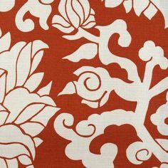 Duralee Thomas Paul 20877 Blossom Cinnabar