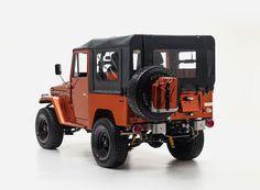 toyota land cruiser FJ49 tonka truck custom  4x4 FJ company designboom