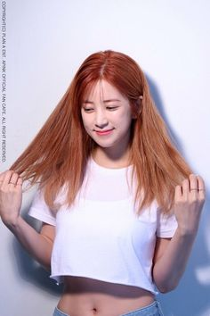 Park Chorong Apink❤ Kpop Girl Groups, Korean Girl Groups, Kpop Girls, Pink Park, South Korean Girls, Girl Crushes, Rapper, Curvy, Long Hair Styles