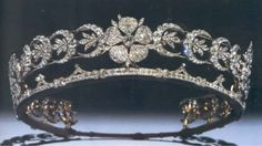 A tiara once belonging to Queen Mary's mother, the Duchess of Teck. Princess Margaret wore it sometimes.