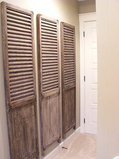 Raised Panel / Louvered Bi-Folding Closet Doors of Orange County ...