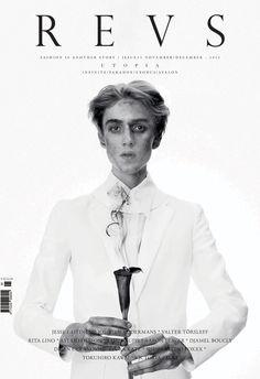 Revs magazine, issue 5, November/December 2012 | Magazine Cover: Graphic Design, Typography, Photography |
