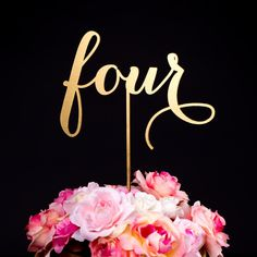 Set of Gold Wedding Table Numbers DIY wedding planner with ideas and tips including DIY wedding decor and flowers. Everything a DIY bride needs to have a fabulous wedding on a budget! Reception Decorations, Event Decor, Wedding Centerpieces, Jar Centerpieces, Centrepieces, Gold Wedding, Wedding Flowers, Dream Wedding, Trendy Wedding