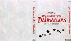 One Hundred and One Dalmatians - Alternate Disney Blu-Ray Slipcover