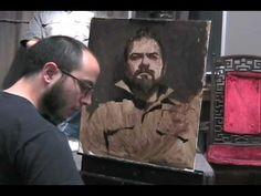 Sean Cheetham - Painting Portait - Alla Prima