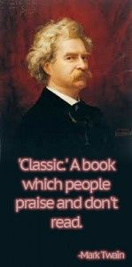 #Books Mark Twain Nails it Again! LoL, so true!