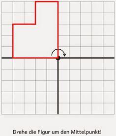 Lernstübchen: Tafelmaterial zur Drehsymmetrie