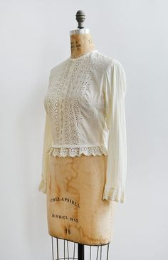 At Adored Vintage we specialize in antique tops and blouses from the 1900s to the 1910s. Shop our collection of Edwardian antique tops and blouses.