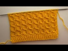 New Knitting Pattern For All Project - YouTube