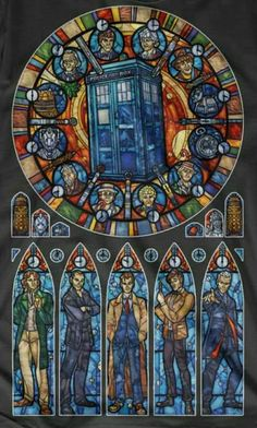 Doctor Who Tardis Stained Glass 352 Cross Stitch Pattern Doctor Who Tardis, The Tardis, Art Doctor Who, The Doctor, Eleventh Doctor, Tardis Door, Tardis Art, Dr Who, Fan Art