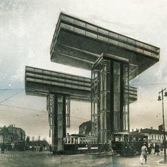 Lissitzky, Wolkenbügel (1924)   The Charnel-House