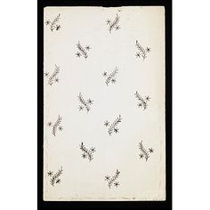 Fantastic sprigged design, good for silk or silver or gold plate. 1789 V