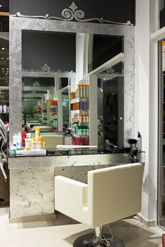 Gika Hair Specialist, Vanity, Mirror, Furniture, Home Decor, Vanity Area, Homemade Home Decor, Lowboy, Dressing Tables