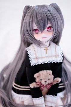 Anime doll Best Picture For Doll clothes For Your Taste You are looking for something, and it is going to tell you exactly what you are looking for, and you didn't find that picture. Kawaii Doll, Kawaii Anime Girl, Pretty Dolls, Beautiful Dolls, Barbie, Anime Toys, Anime Figurines, Dream Doll, Smart Doll