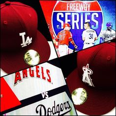 THINK BLUE: Freeway SeriesDodgersVs AngelsTonight @ the Chavez Ravine Who yall got?? #FreewaySeries #Dodgers #Angels #Sickfitteds #ChavezRavine #ShopFashionTown by fashiontowncali