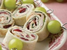 Thanksgiving Roll-ups (eliminate cranberries)