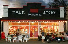 Talk Store Bookstore in Hanapepe. The western-most used bookstore in the United States. #Kauai #Hawaii #bookstore #aloha #teamHawaii