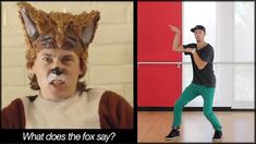 THE FOX - Ylvis Dance TUTORIAL | What Does The Fox Say (MIRRORED) | Musi...