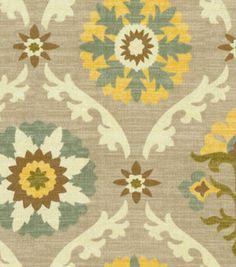 Home Decor Print Fabric- Waverly Mayan Medallion Pebble: home decor fabric: fabric: Shop | Joann.com